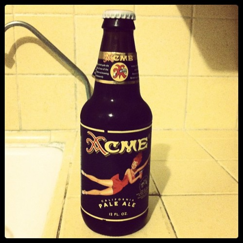 Taste-Testing…Acme California Pale Ale (Taken with instagram)