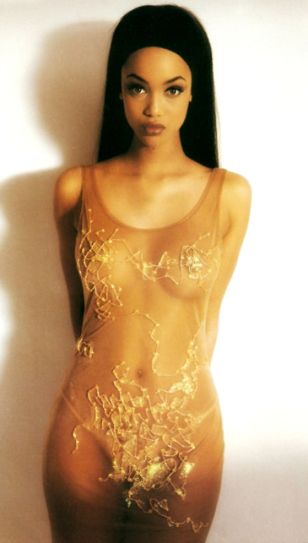old tyra banks ? o_o