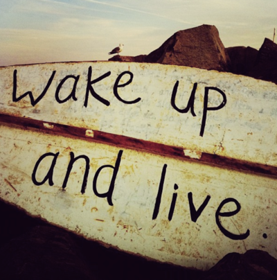 On the blog { go find joy } - wake up and live     #fb