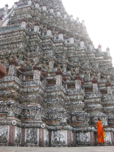 travelthisworld:  Monk at Wat Arun, Bangkok submitted by: aethompson, thanks!