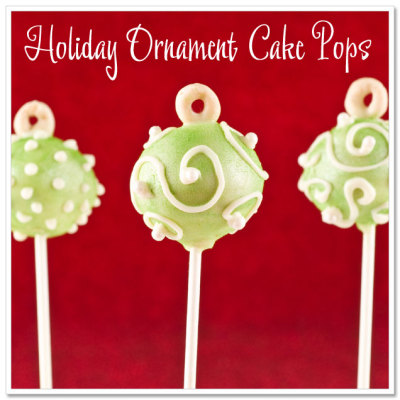 xomgitsnikkiix: DIY Holiday Ornament Cake Pops