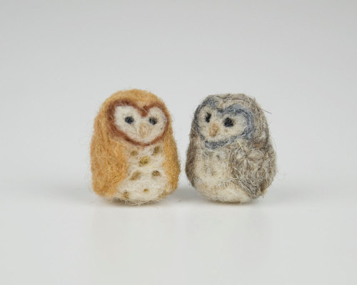 If I had lots of money, I would have too many needle felted animals. So it's probably good that I'm perpetually broke?