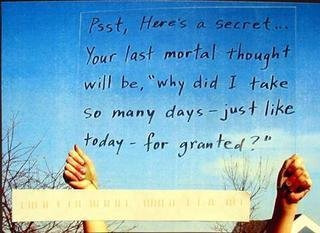 bestofpostsecret:  March 2009