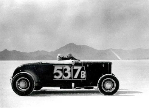 Roadster at Bonneville