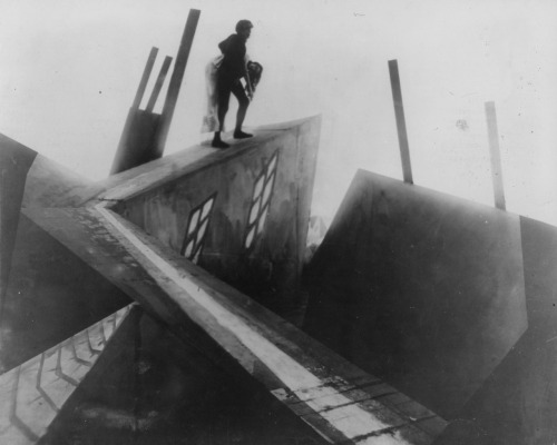The Cabinet of Dr. Caligari, 1920, directed by Robert Weine via Lenin Imports