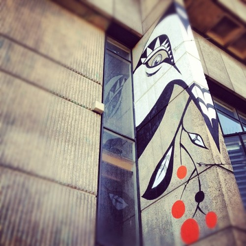 The Bird #randomtypography #streetart #birmingham  (Taken with Instagram at Paradise Forum)