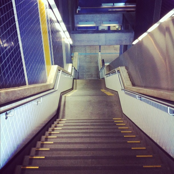 [INSTAGRAM] #subway #stairs #saopaulo