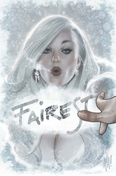 bidonica:  (via FAIREST Cover 3 by *AdamHughes on deviantART)
