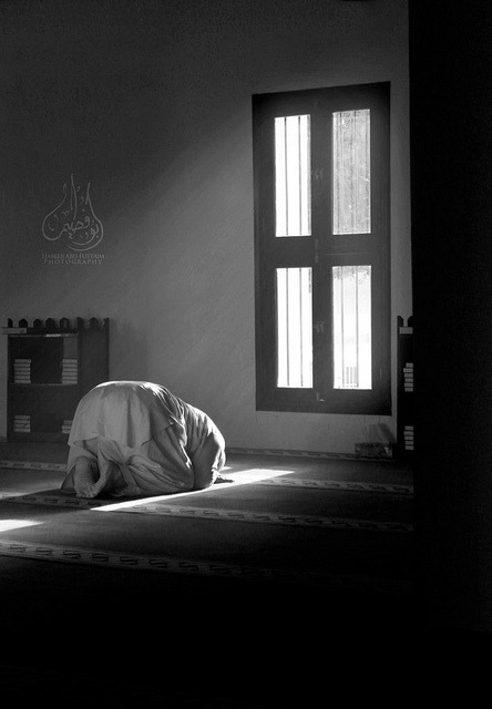 Prostrate before Allah