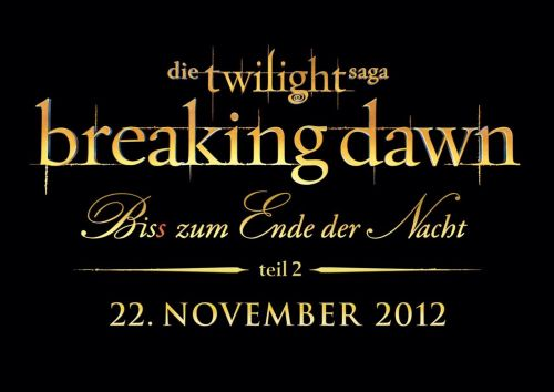 Official logo of 'Breaking Dawn' Part 2 for Germany  As a curiosity, here is the official logo of Breaking Dawn - Part 2 for Germany.
