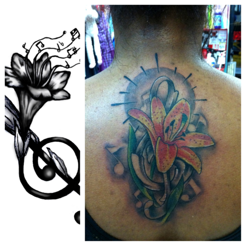 Its my job to make your tattoo look better than the reference picture that you bring in. By Aaron Trimiar
