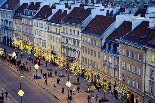allthingseurope:  Warsaw old town (by The Globetrotting photographer)