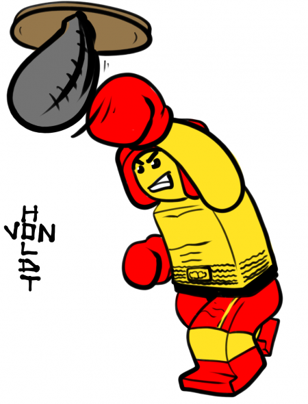 legoexpress:  (via mini-figure « Doodle a Day)