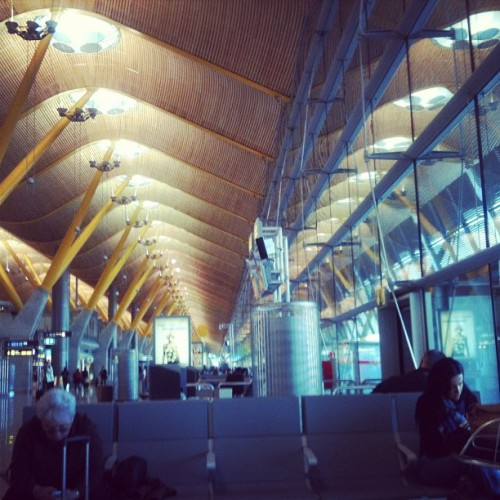 Mad-Bcn T4 ciao @aulamadrid (Taken with instagram)