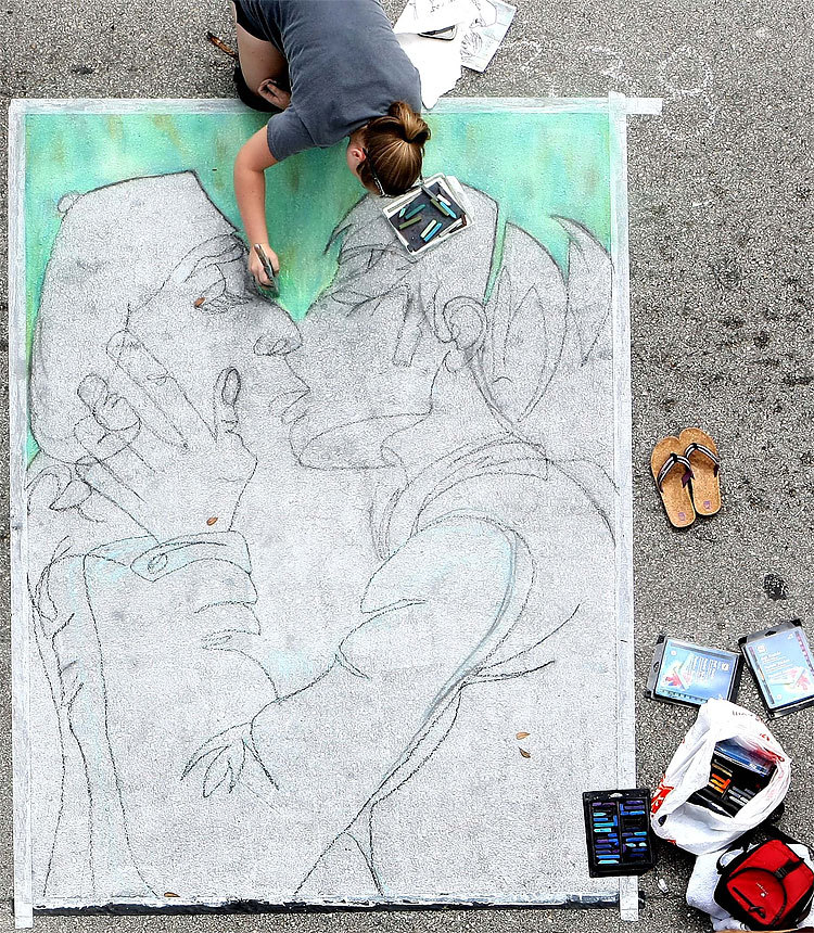 Lake Worth's 18th Annual Street Painting Festival.