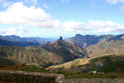 lugw0rth:  Magical mountains -  Roque Bentaiga,Gran Canaria by elysea on Flickr.