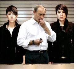 tegan and sara and vladimir putin