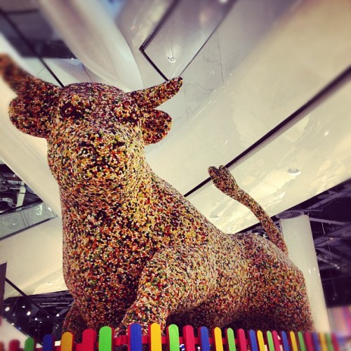 Jelly Belly Bull #birmingham #foodie #jellybelly (Taken with Instagram at Selfridges, Bullring)