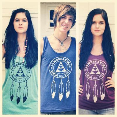 Order your dream catcher tank now, they have been reordered! There are limited quantities. Get yours NOW! www.shopjawbreaking.com