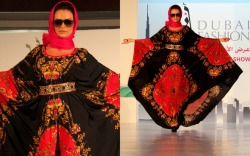 Kaftan comes on the runway!Dubai Fashion review Like me on Facebook!