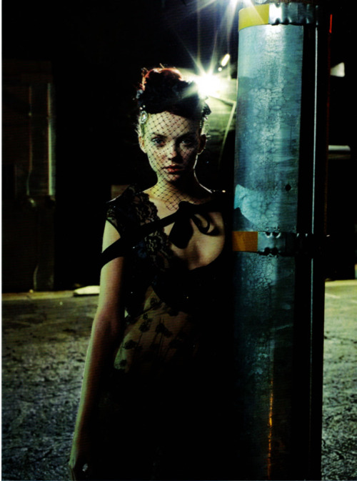 """One Night in Las Vegas""Heather Marks by Peter Lindbergh for Vogue Italia March 2006"