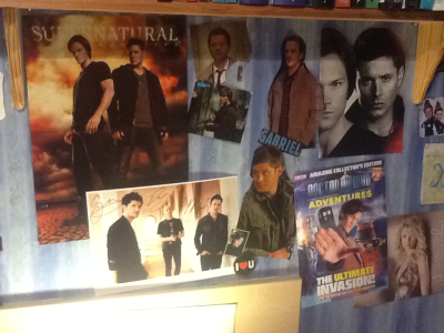 my Wall of Geek :) ..still in progress.