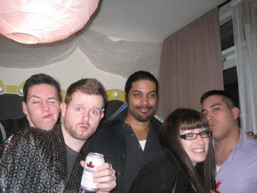 My best friend's Red light District party! Pictures of old friends and new ones plus more food and decor