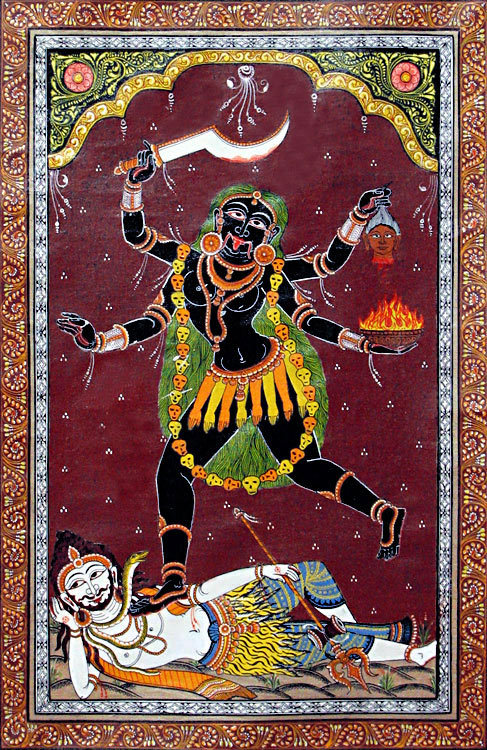 the-feminine-divine:   goddess Kali