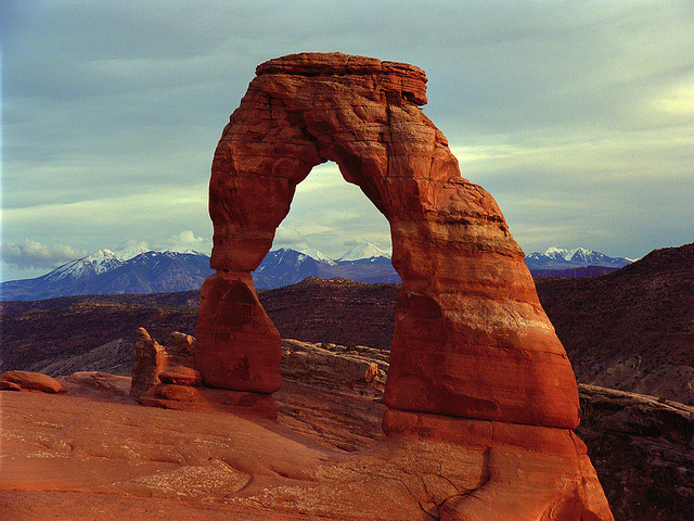 Delicate Arch, Arches National Park, Utah by waaade on Flickr.