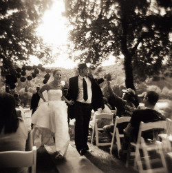 the happy couple by holga by manyfires on Flickr.