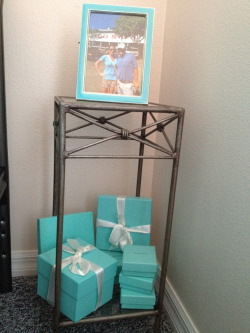 What I did with some of my Tiffany boxes