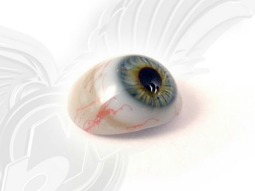 BBC Radio documentary exploring the world of the prosthetic eye: http://www.bbc.co.uk/programmes/b01c7v00