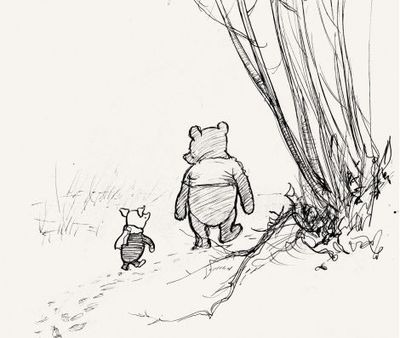"""While Eeyore frets, and Piglet hesitates, and Rabbit calculates, and Owl pontificates…Pooh just is."""