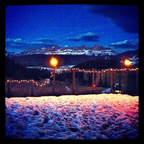 #night #mountain #trentino #italia #italy #weekend #ig #igers #ink361 #igdaily #instagood #instagram #instamood #iphonesia #iphoneonly #igersitalia #iphoneography #instagramitalia #wiew #bozen #bolzano (Taken with instagram)