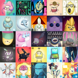 My whole Adventure Time Season 3 series.
