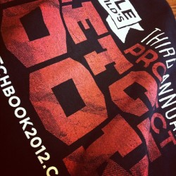 We got SHIRTS! #projectsketchbook2012  (Taken with Instagram at Project Sketchbook HQ)