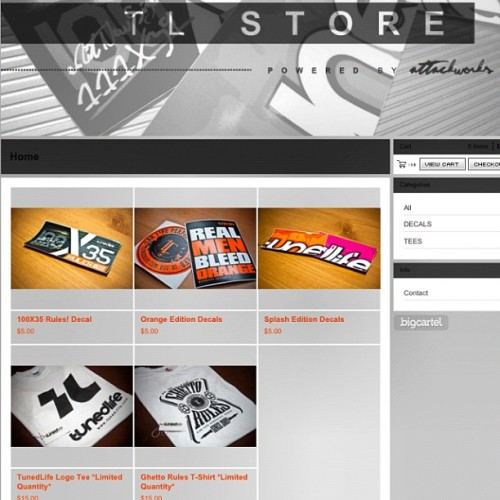 Tunedlifestore.bigcartel.com . The TunedLife Store is now online!!! Check it our new stickers & Tee's (limited quantity). Enter @ tunedlifestore.bigcartel.com. #tunedlife #stuff #puertorico #follow #stickers #tshirt #tees #cars #swag #popular #instagram #store #online #shipped #rep  (Taken with instagram)