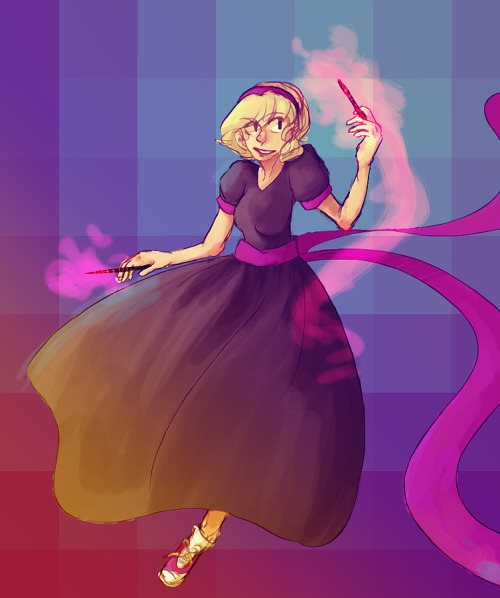desmostheses:  i really like rose (●´∀`●)  omgomg the colors and her face aaaahagaahhhhhhh