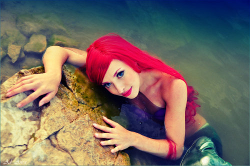 ARIEL - Little Mermaid disney by ~Yana-Mio Hot god-damn pretty is this Ariel?!