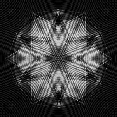 greyfaced:  hexagram by: Gabriel Zambrano