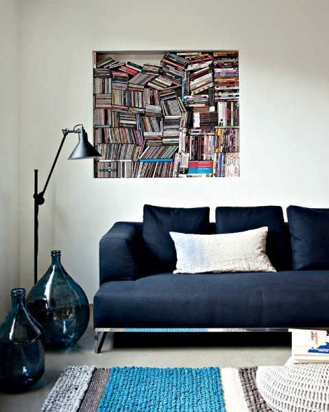 nook for books (via Marie Claire Maison)