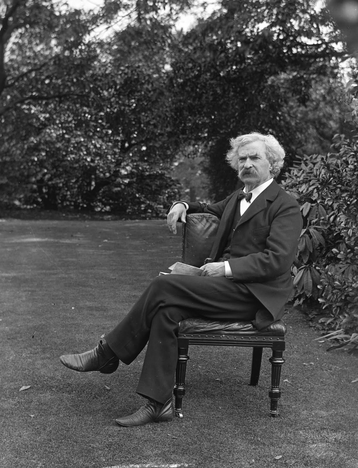 """Of course, no man is entirely in his right mind at any time."" –Twain"