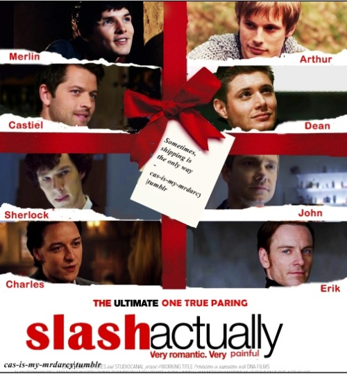 cas-is-my-mrdarcy:  SLASH ACTUALLY SOMETIMES, THE ONLY WAY IS TO SHIP THEM