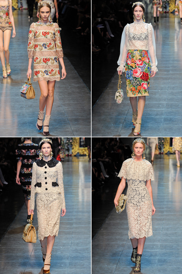 ashleyording:  Major heart palpitations… Dolce & Gabbana Fall 2012 (via style.com)