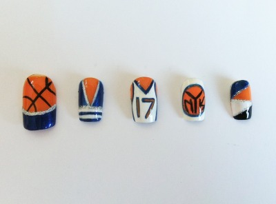 Here is the NY Knicks design broken into pieces.  Do you have a favorite?