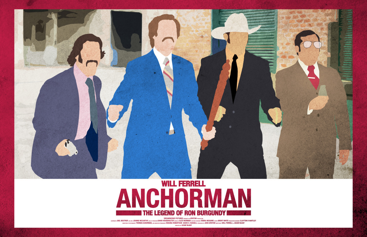 Anchorman http://www.etsy.com/listing/93939841/anchorman-17-x-11-movie-poster