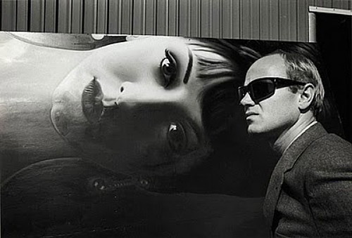 James Rosenquist, 1964 photo by Dennis Hopper