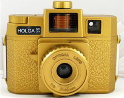 Vintage Solid Gold Holga Camera