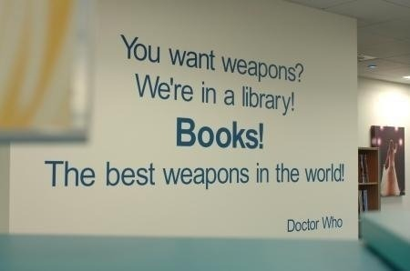 doctor-benaddict-watson-wizard:  This Library    This is real? I wish my library had this sign up…