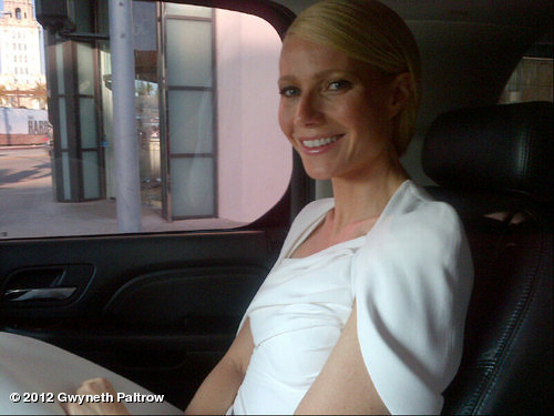 Almost there! In Tom Ford and Anna Hu!View more Gwyneth Paltrow on WhoSay